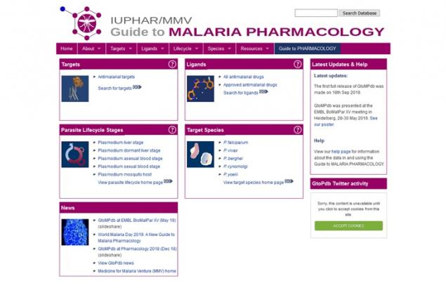 Guide to malaria pharmacology